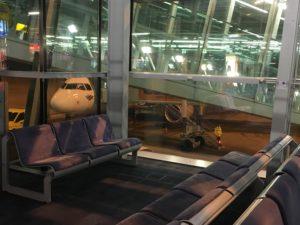 Ein Tag aus dem Leben einer Konferenzdolmetscherin für Polnisch, am Flughafen Nürnberg