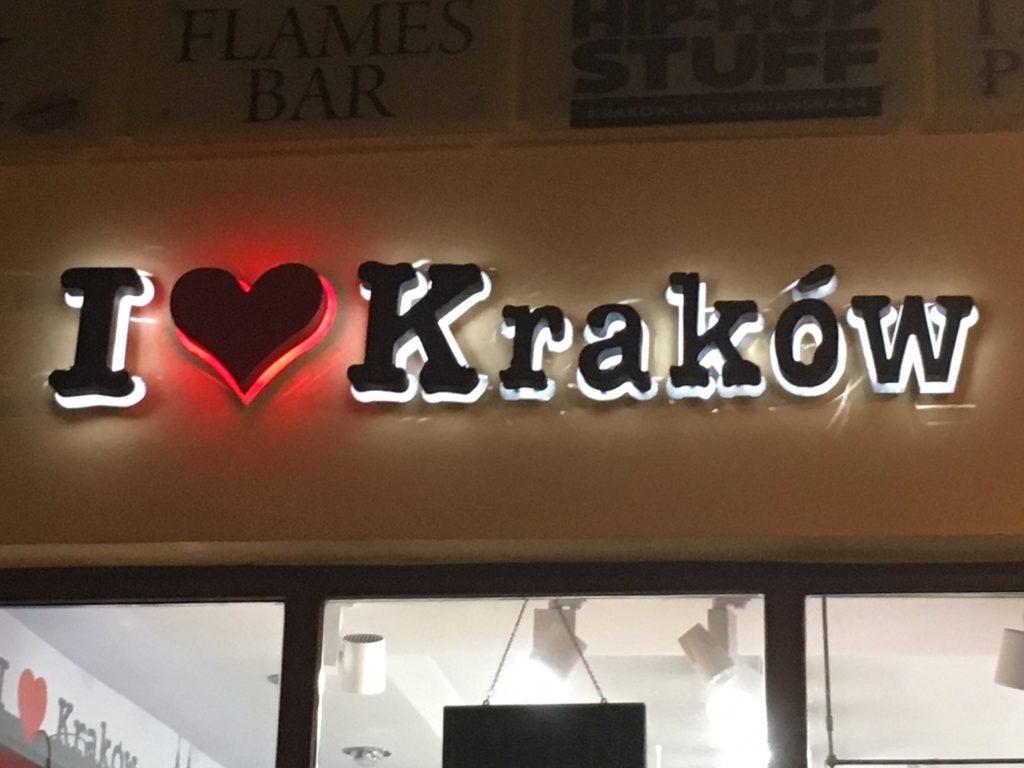 Ich liebe Krakau