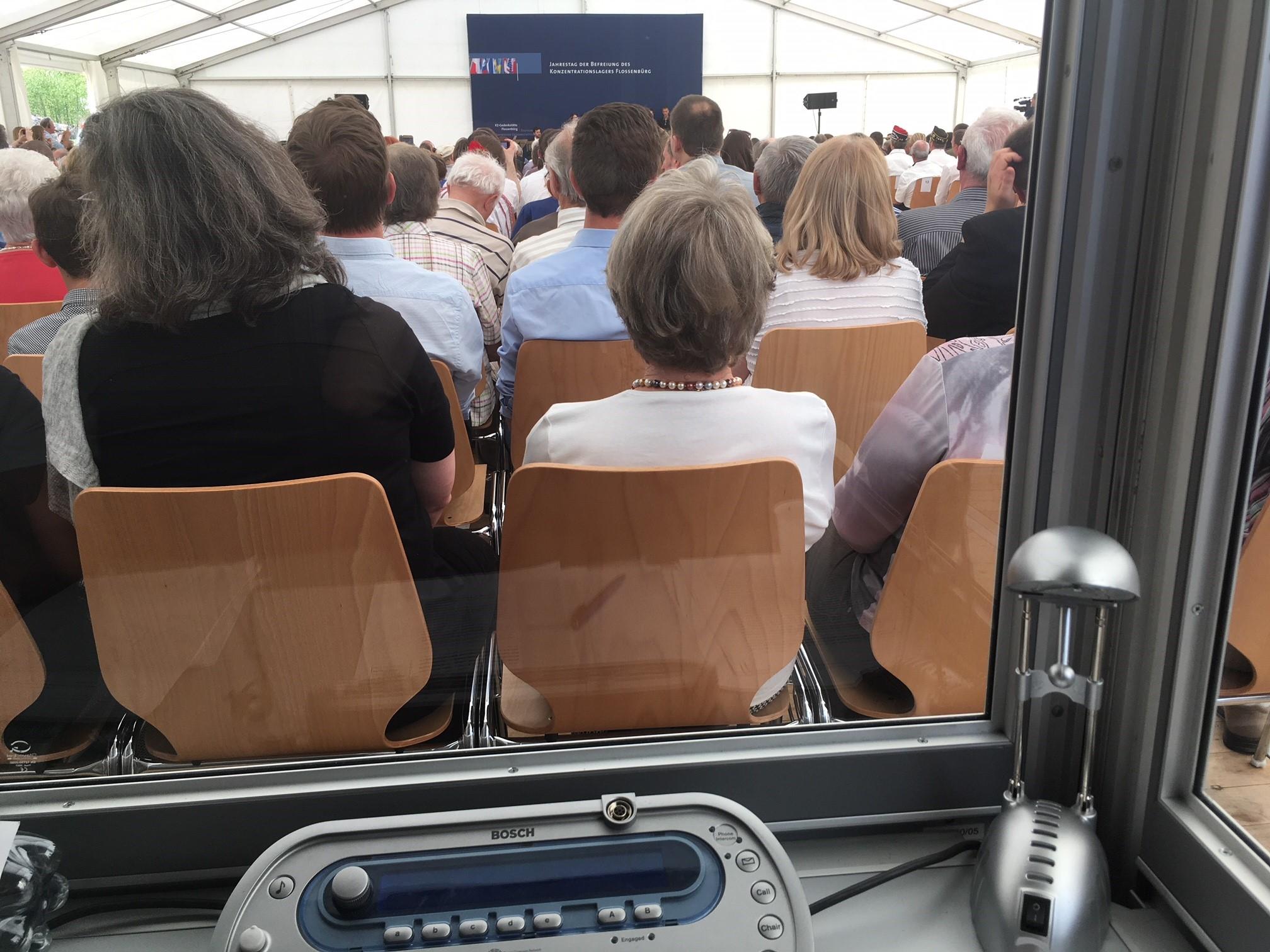 Konferenzdolmetschen Polnisch-Deutsch beim Gedenkakt der Befreiung des KZ Flossenbürg