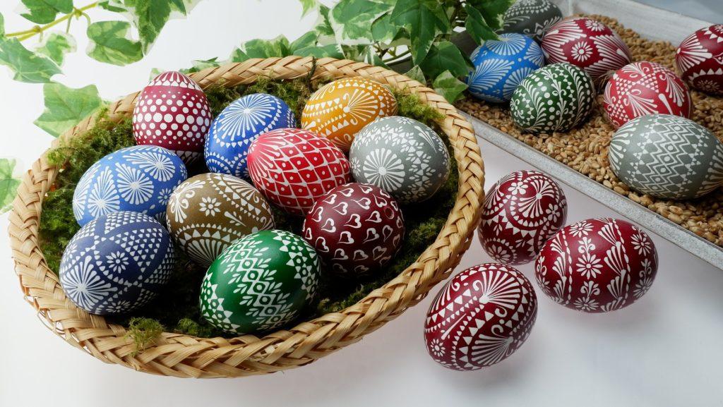 Ostereier gehören zum traditionellen Osterfest in Polen